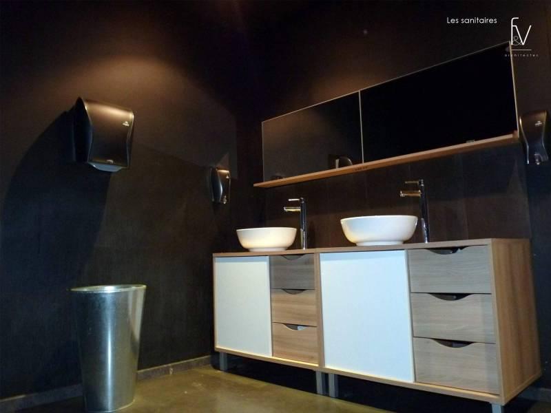 projet d 39 architecture de restaurant dans le var brignoles f v architectes cabinet d. Black Bedroom Furniture Sets. Home Design Ideas