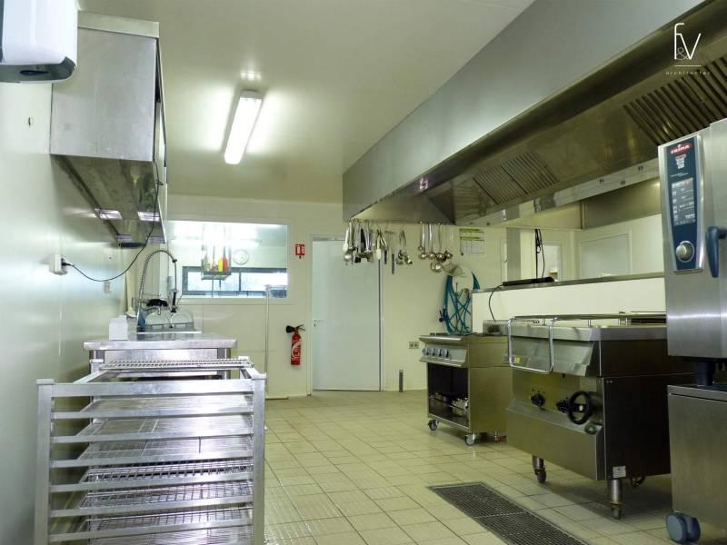 Projet d 39 architecture d 39 une cuisine centrale dans le var for Projet d architecture