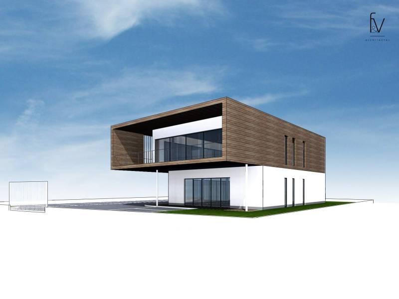 projet de locaux commerciaux et bureaux dans le var f v architectes cabinet d 39 architectes. Black Bedroom Furniture Sets. Home Design Ideas