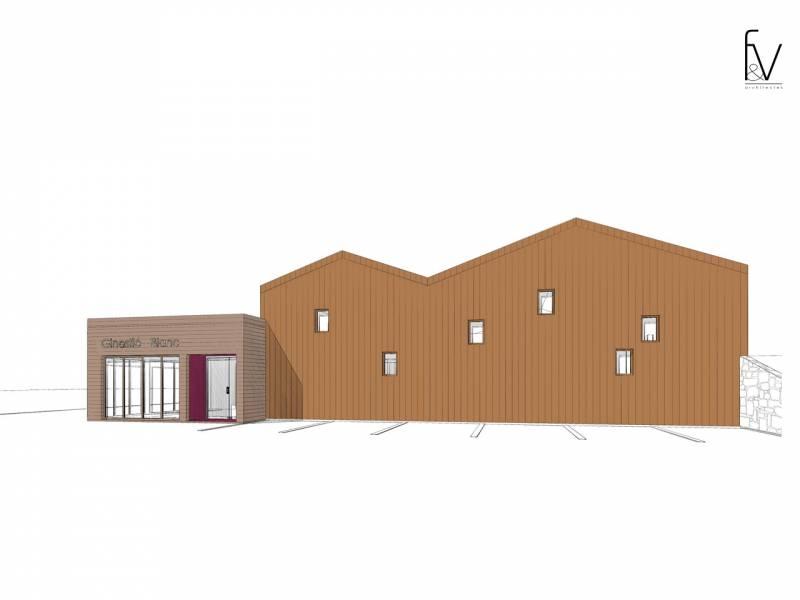 projet de chai vinicole dans l 39 h rault var f v architectes cabinet d 39 architectes marseille. Black Bedroom Furniture Sets. Home Design Ideas