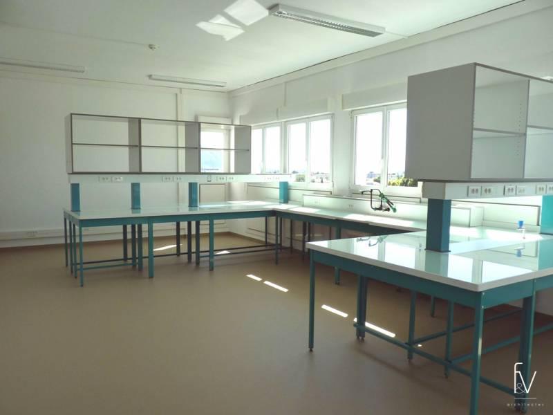 projet de r am nagement des laboratoires et bureaux b timents nn 39 cnrs marseille f v architectes. Black Bedroom Furniture Sets. Home Design Ideas
