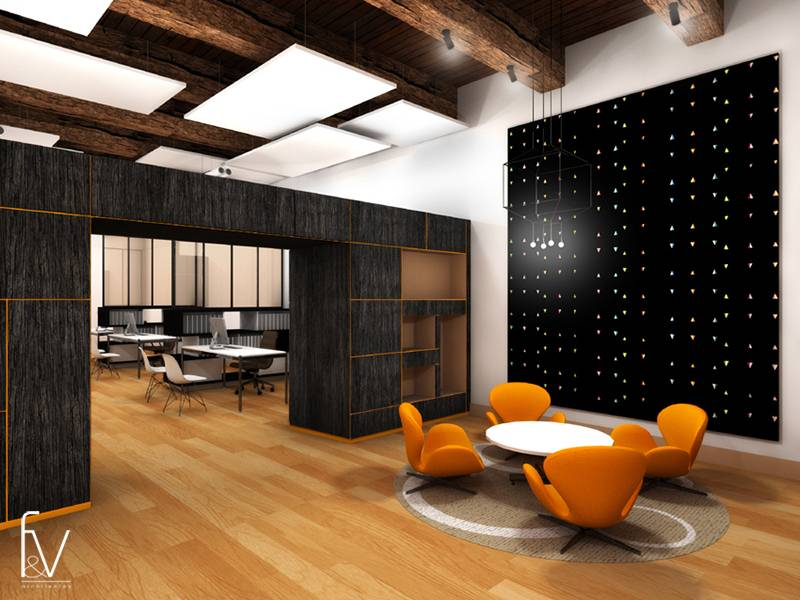 r am nagement des bureaux d 39 un cabinet d 39 avocats marseille f v architectes cabinet d. Black Bedroom Furniture Sets. Home Design Ideas