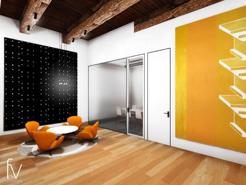 r am nagement des bureaux d 39 un cabinet d 39 avocats marseille f v architectes cabinet d. Black Bedroom Furniture Sets. Home Design Ideas