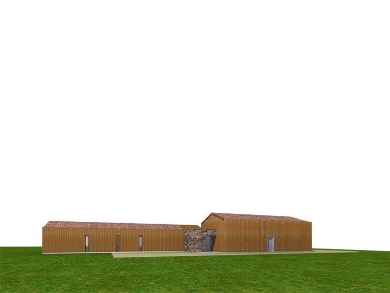 Chambre Scandinave Bebe : contemporaine dune maison à ossature et bardage bois Bouches du