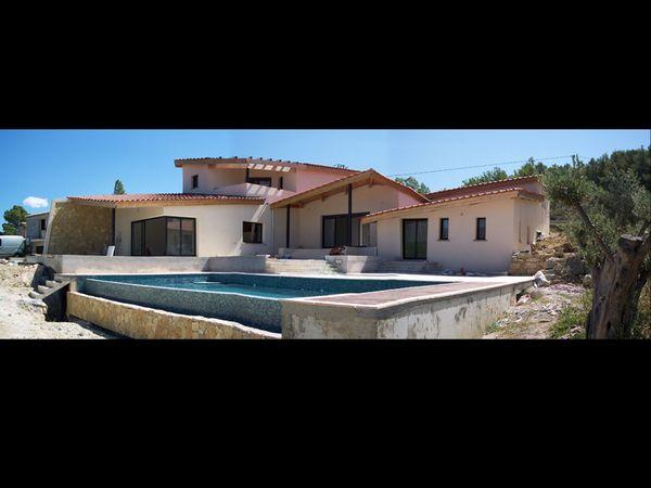 Architectes de maison sur marseille villa moderne f v for Projet maison moderne